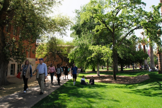 The University is No. 4 in the education subcategory of Forbes Magazine's America's Best Large Employers list.
