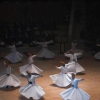 The dance performed by the Whirling Dervishes was inspired by Rumi.