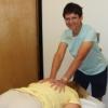 Julie Perkins is Campus Health Service's only massage therapist.