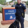 Kyle Morrison and his dog, Michael, patrol UA sporting events, political visits and more as UAPD's canine explosive detection team.