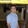 Patrick Beamish worked on military vehicles in combat before becoming a vehicle technician at the UA.