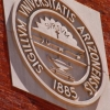 Photo of UA seal by Scott Kirkessner