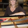 Cassie Van Gelder plays keyboard in a local band when she's not working on pianos in the UA School of Music.