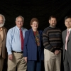 UA College of Science Galileo Circle Fellows (from left) Michael Rosenzweig, E. Philip Kride (Copyright 2009 FOTOSMITH)