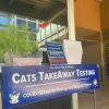 TakeAway tests can be picked up and dropped off at 10 campus locations.